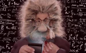 Albert Einstein Humor Funny Physics  - ParallelVision / Pixabay