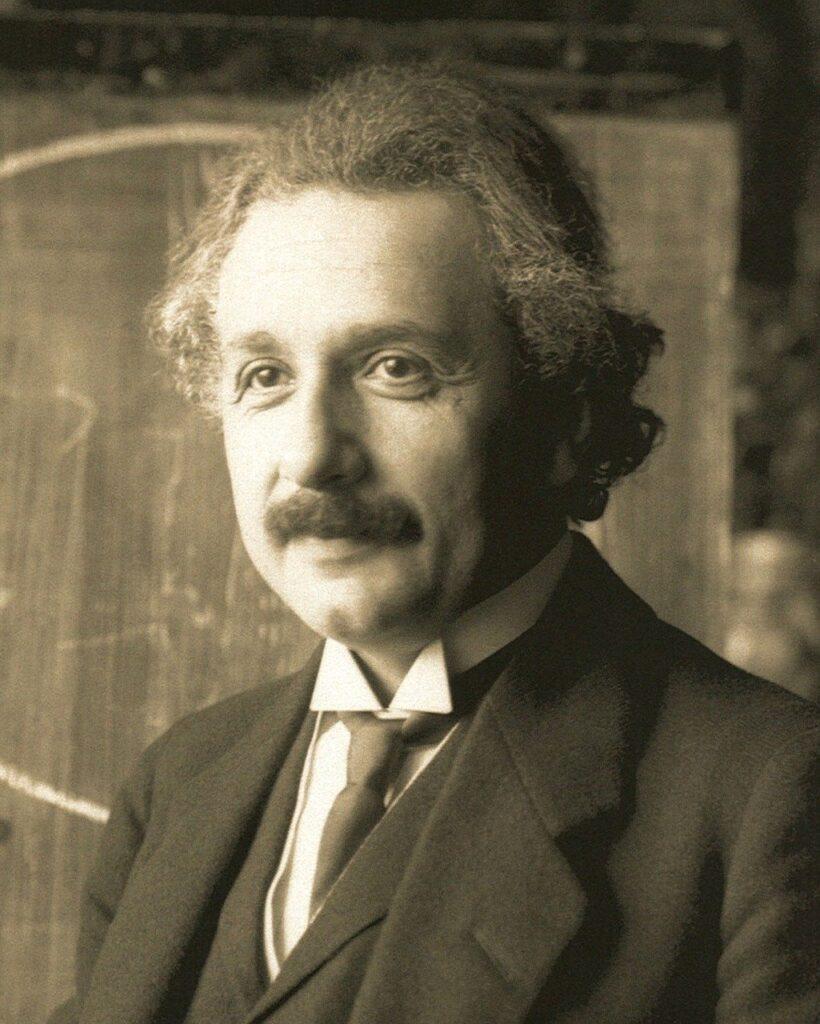 Albert Einstein Portrait Person  - WikiImages / Pixabay