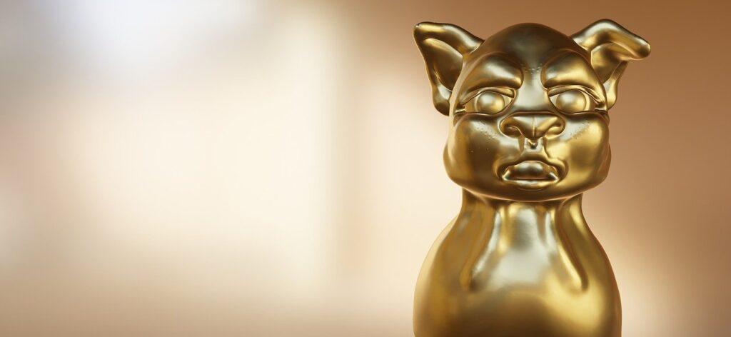 Animal Golden Statue Figure  - HEIDIVAR / Pixabay