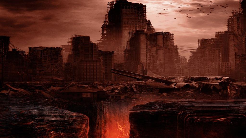 Apocalypse City Ruins Buildings  - PhoenixRisingStock / Pixabay