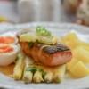 Asparagus Salmon Fish Table Dine  - RitaE / Pixabay