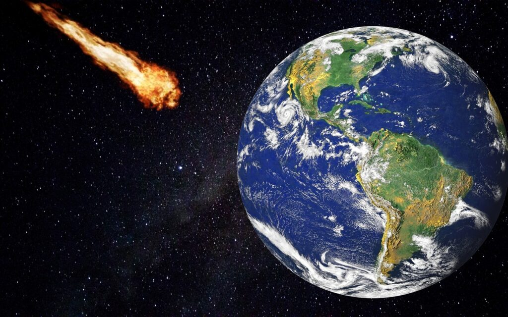 Asteroid Comet Meteorite Asteroid  - 9866112 / Pixabay