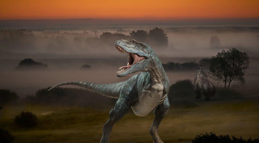 Background Dinosaur Woods Sky  - jcoope12 / Pixabay
