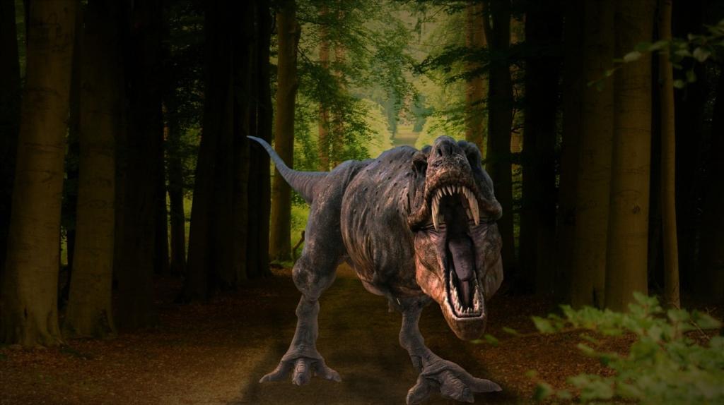 Background Woods Pathway Dinosaur  - jcoope12 / Pixabay