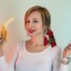 Banana Fruit Woman Girl Food  - Victoria_Borodinova / Pixabay