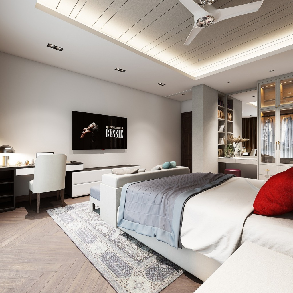 Bedroom Interior Design Furniture  - tuanarch87 / Pixabay