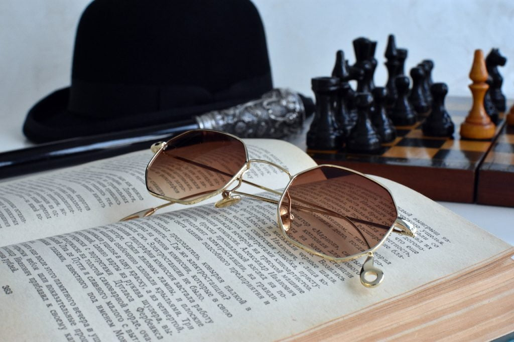 Book Sunglasses Men Accessories  - Irenna86 / Pixabay