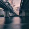 Bridge River City Buildings  - makotochocho / Pixabay