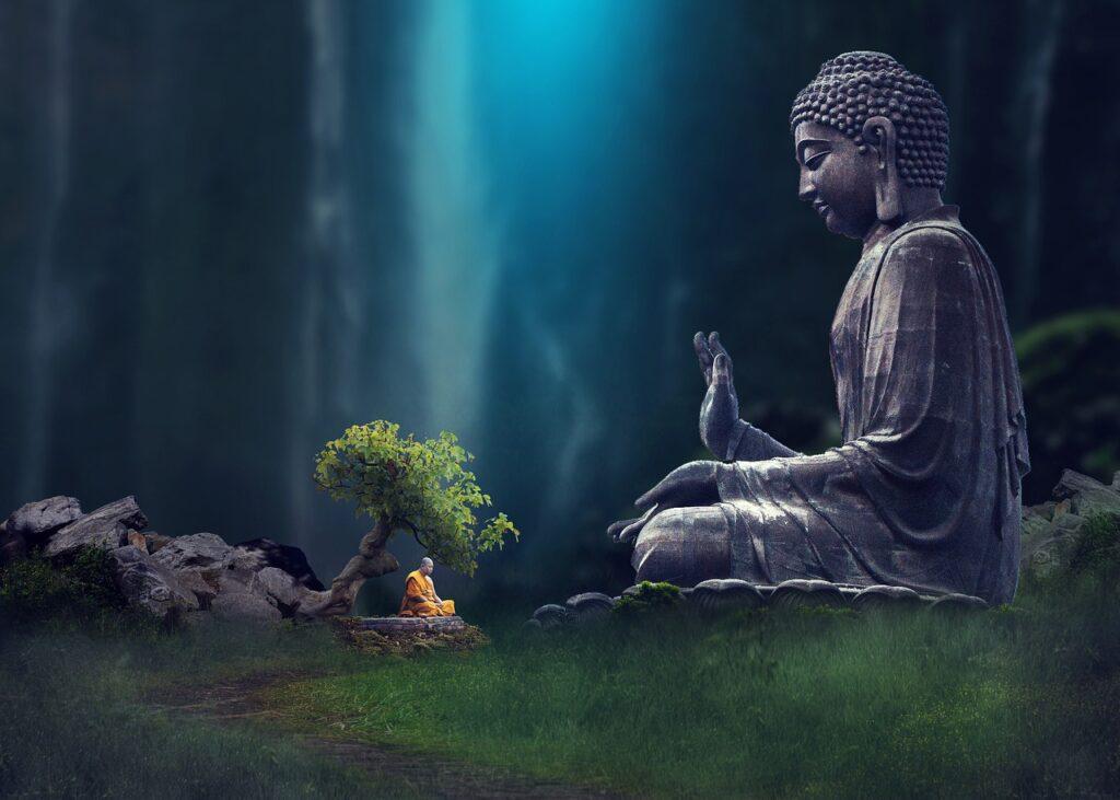 Buddha Monk Meditation Buddhist  - kapseatul / Pixabay