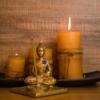 Budha Buddhism Sculpture Candles  - ernestovdp / Pixabay