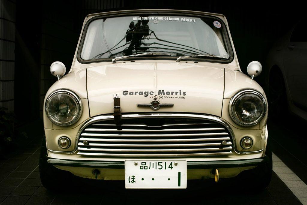 Car Auto Vintage Austin Mini  - djedj / Pixabay