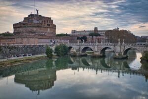 Castel Sant Angelo River Bridge  - rainhard2 / Pixabay
