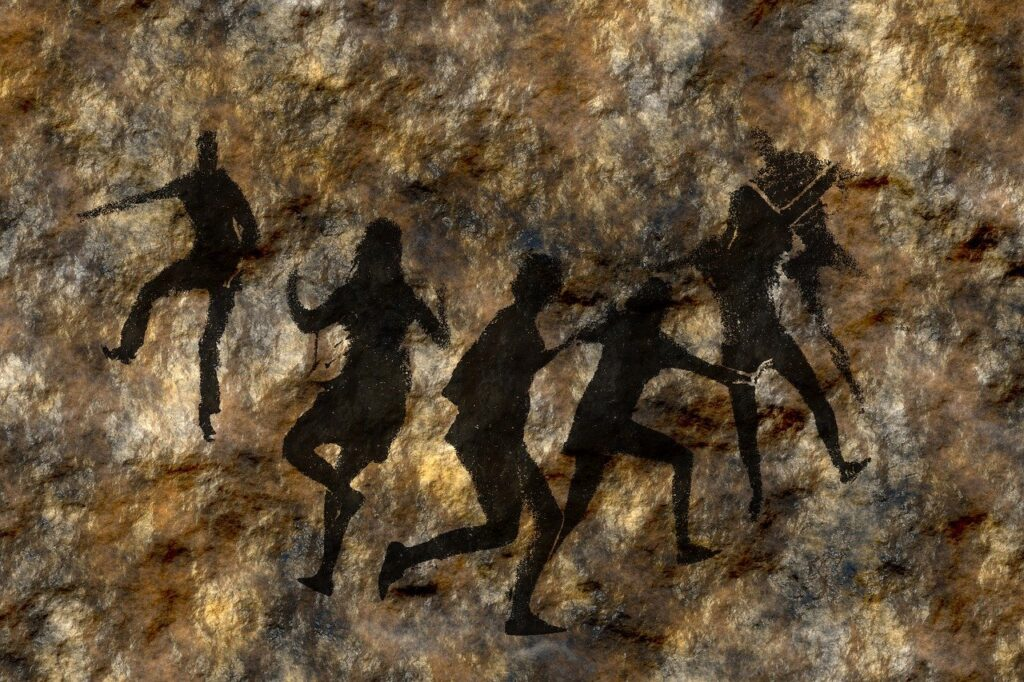 Cave Paintings Rock Wall Stone  - geralt / Pixabay