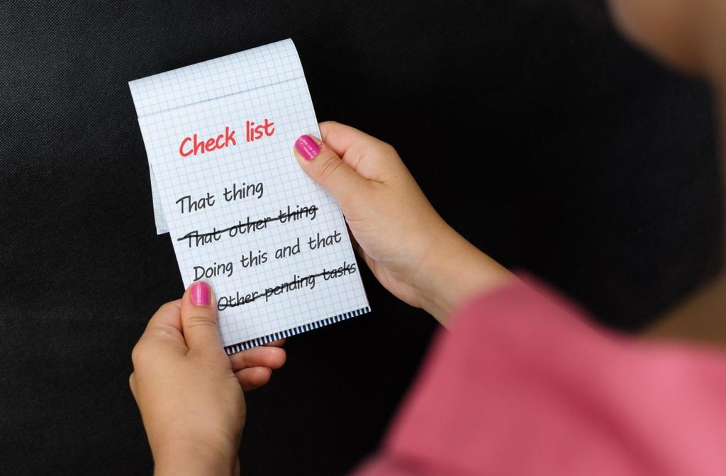 Checklist Tasks Notepad Note Items  - Tumisu / Pixabay