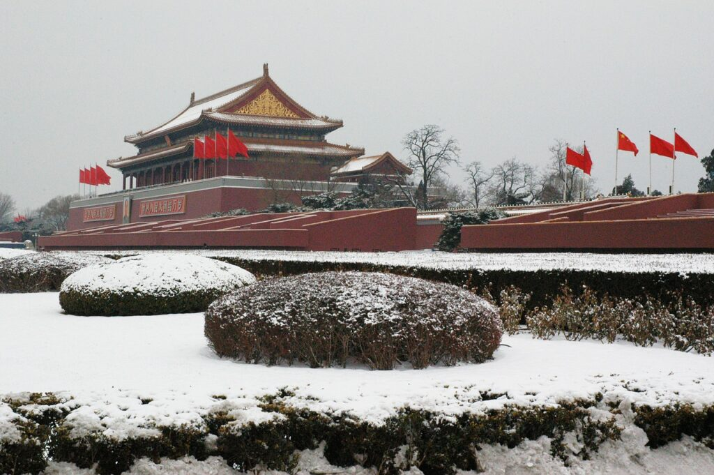 China Palast Architecture Winter  - PublicDomainPictures / Pixabay