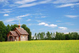 Church Building Cross Meadow Field  - oleg_mit / Pixabay