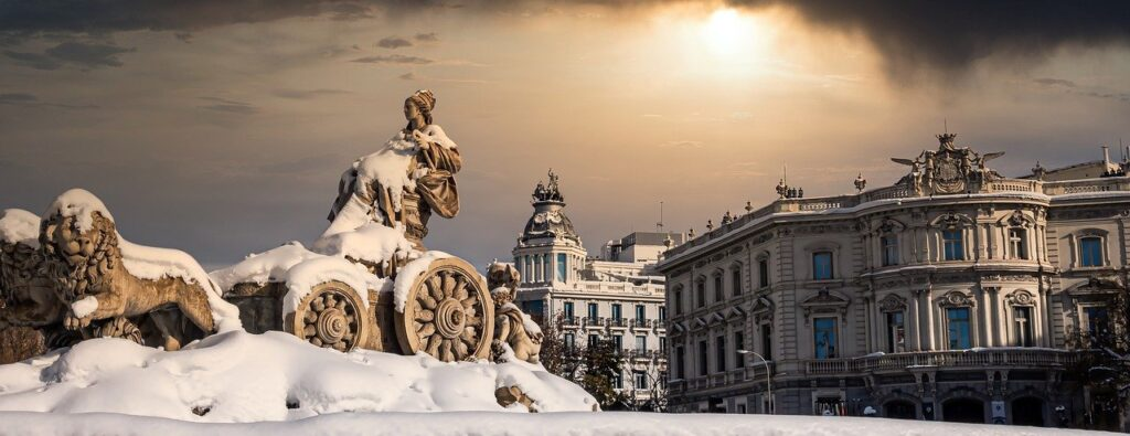 Cibeles Sunset Dusk Dawn Europe  - Donations_are_appreciated / Pixabay