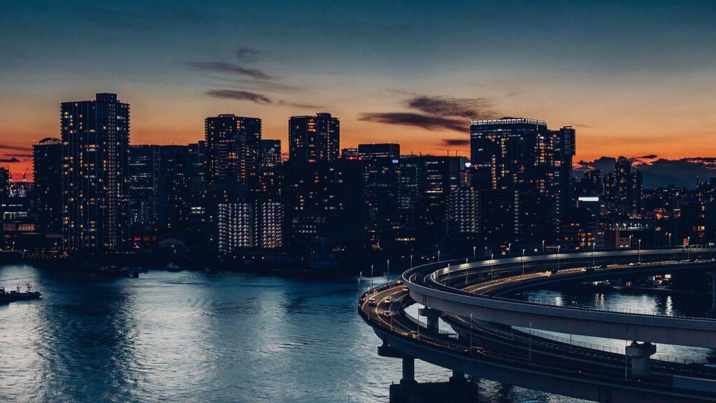 City Bridge Evening Twilight Bay  - xegxef / Pixabay