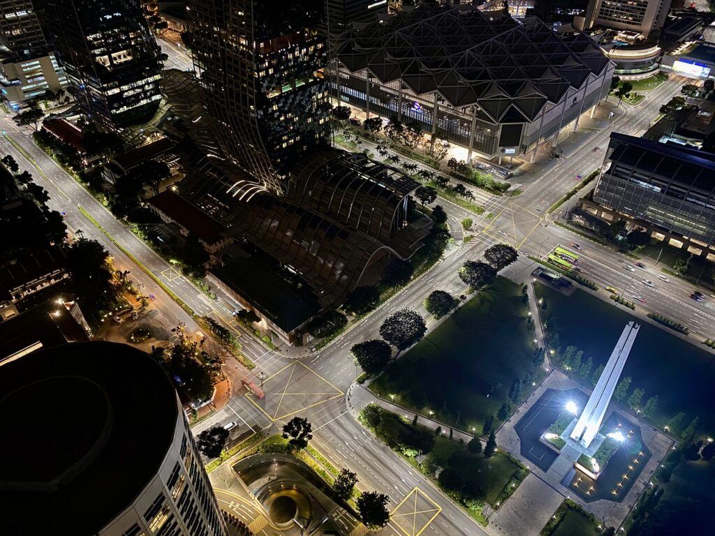 City Night Singapore City Lights  - pigbirdegg / Pixabay