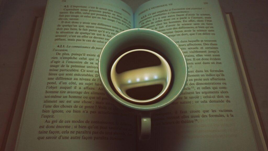 Coffee Book Morning Notebook Read  - alfridoo / Pixabay