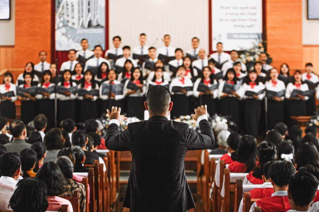 Conductor Choir Chorale  - dangkhoa1848 / Pixabay