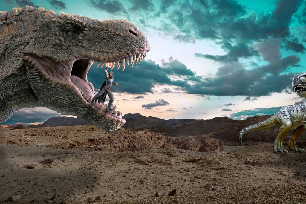 Conqueror Brave Dinosaur  - Syaibatulhamdi / Pixabay