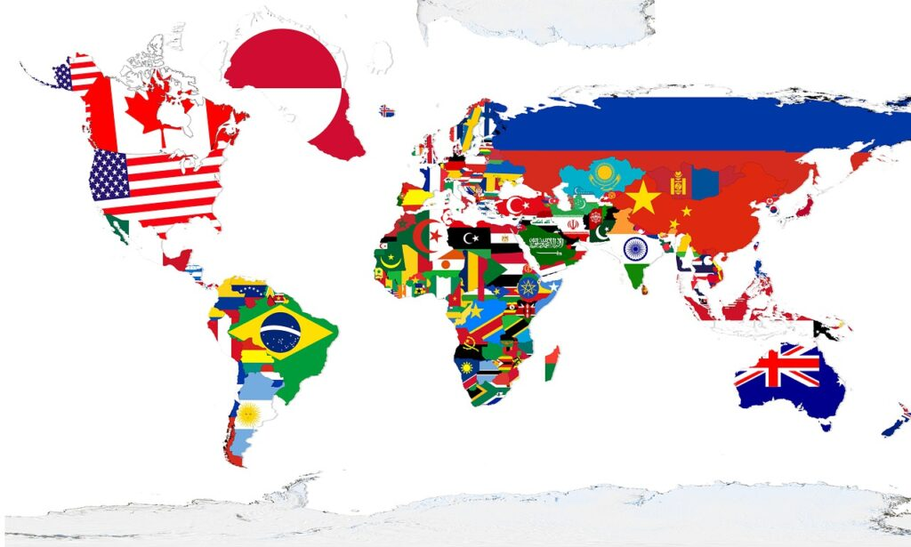 Continents Global Map World Map  - jc_cards / Pixabay