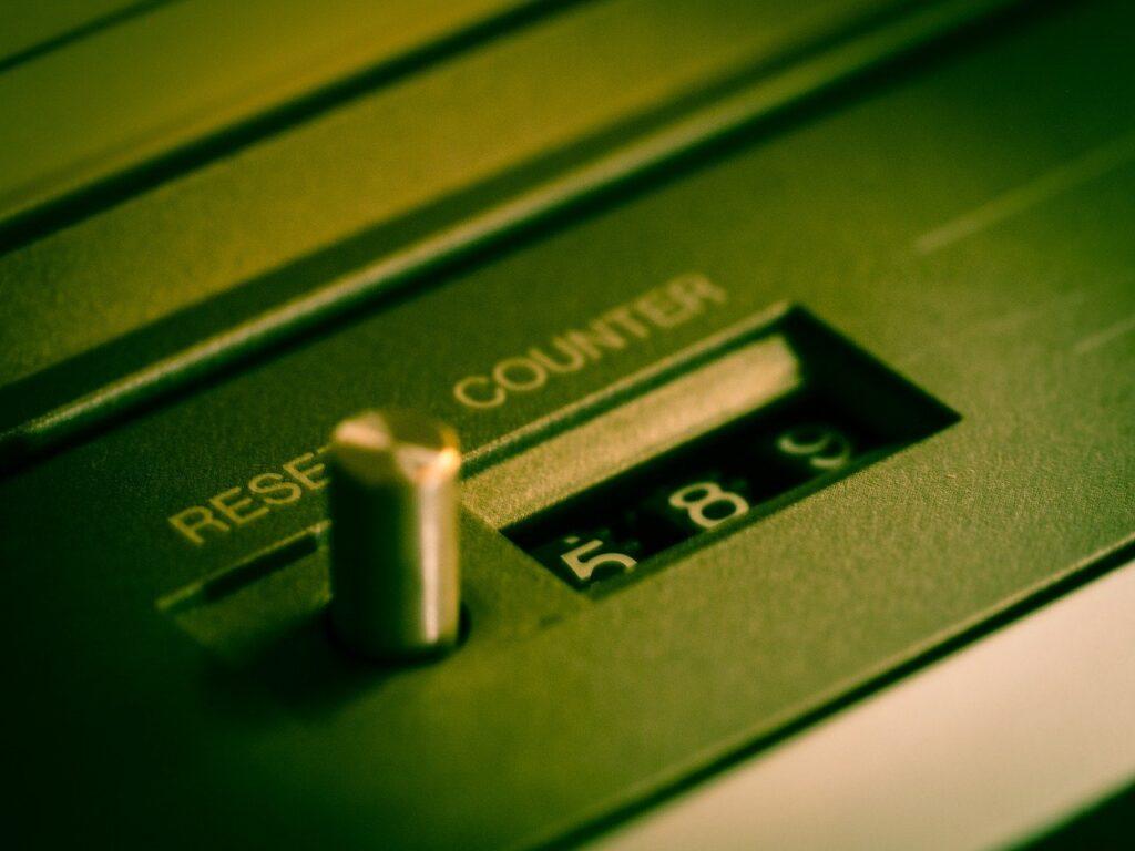 Counter Tape Cassette Recorder  - TBIT / Pixabay