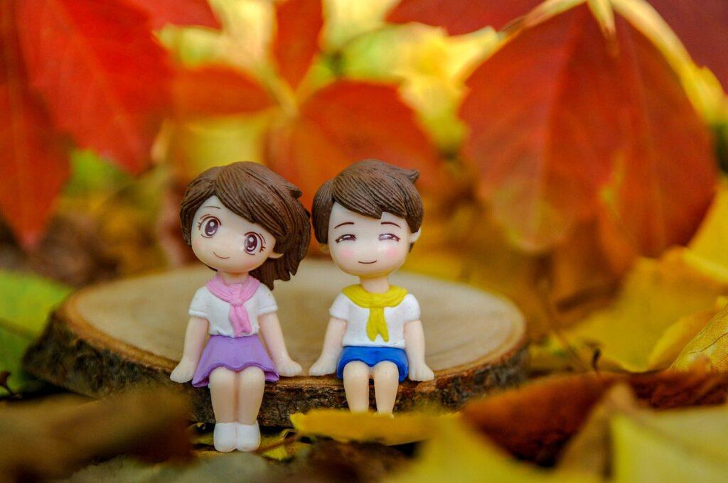 Couple Action Figures Anime Toys  - I_ren_e / Pixabay