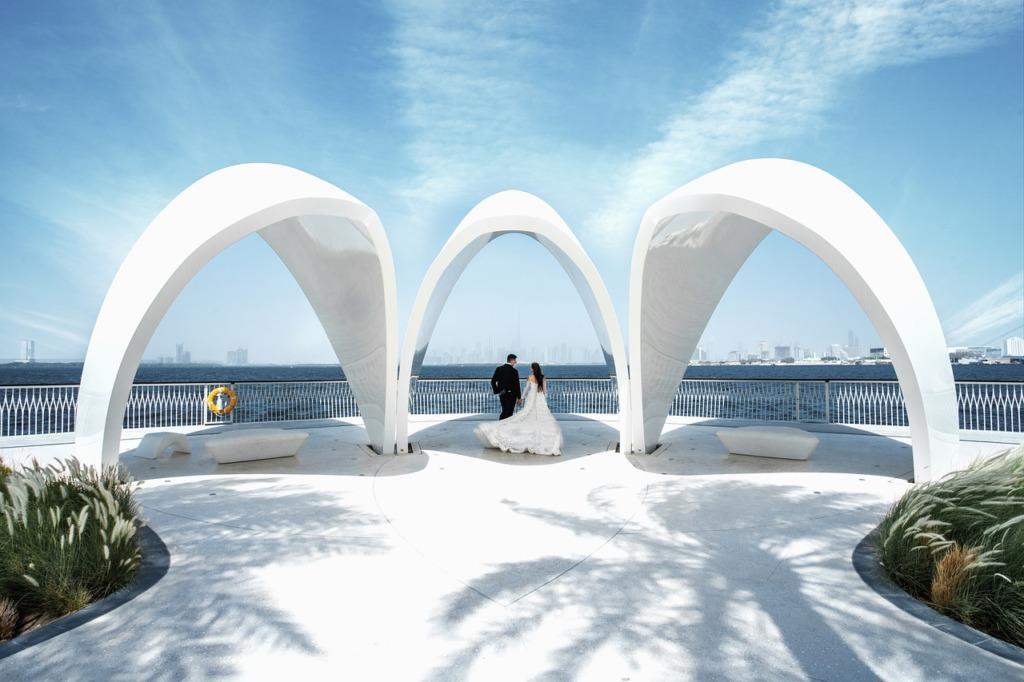 Couple Lovers Bride Groom Wedding  - sunntsdikov / Pixabay