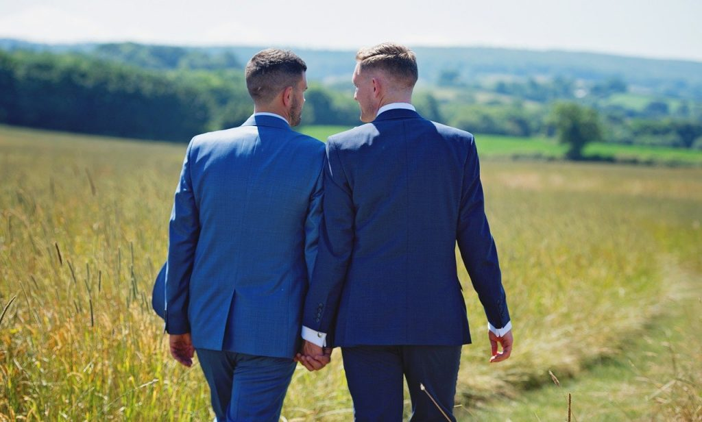 Couple Man Love Homosexual  - LollipopPhotographyUK / Pixabay