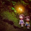 Couple Toy Anime Forest Pair Love  - I_ren_e / Pixabay