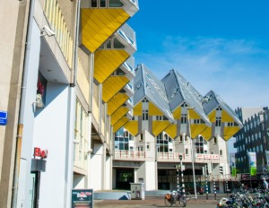 Cube Houses Rotterdam Architecture  - Ernestovdp / Pixabay