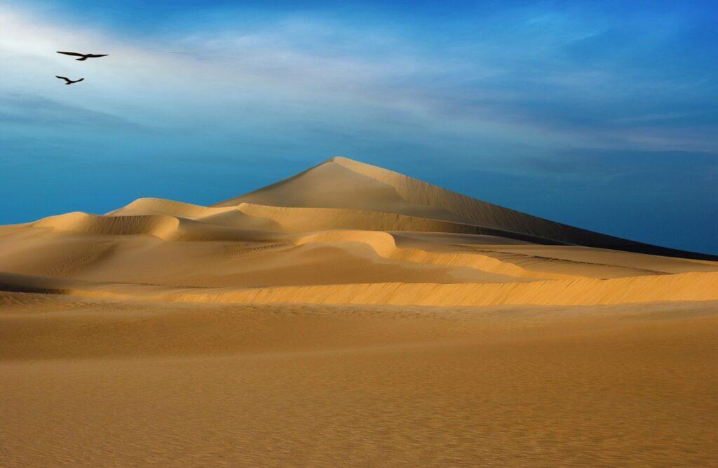Desert Egypt Sand Sand Dunes Sandy  - PuaBar / Pixabay