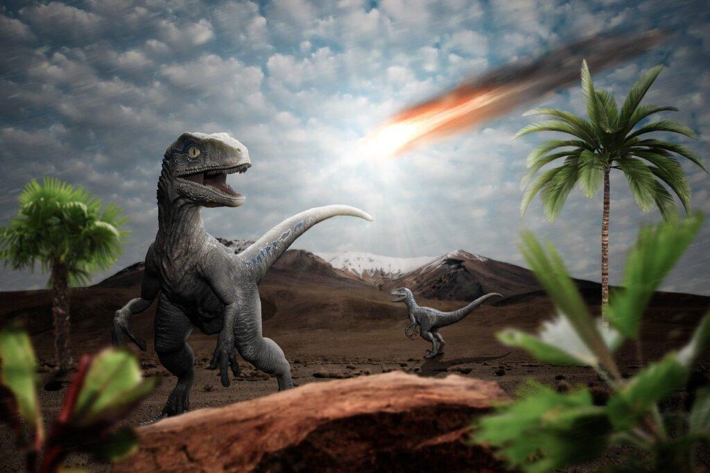 Dinosaur Meteor Impact Apocalypse  - 12222786 / Pixabay