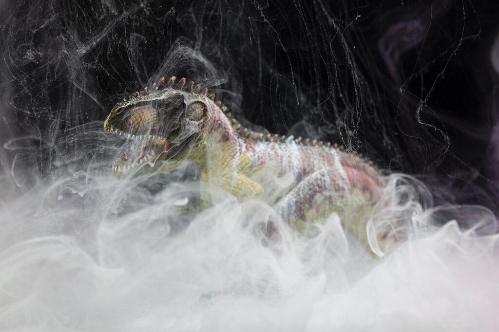 Dinosaur Model Fog Animal Reptile  - Engin_Akyurt / Pixabay