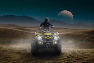 Dirt Bike Dirt Quad Planet Space  - sergiumarvel / Pixabay