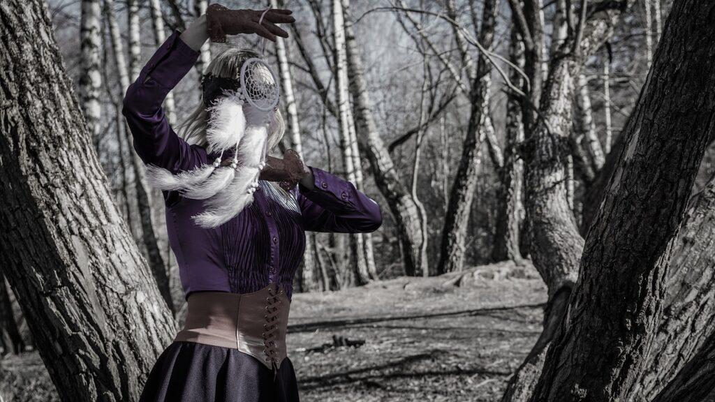 Dream Catcher Shaman Woman Witch  - Victoria_Borodinova / Pixabay