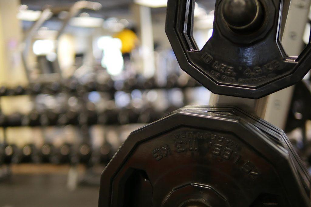 Dumbell Weights Gym Fitness  - jillrose999 / Pixabay