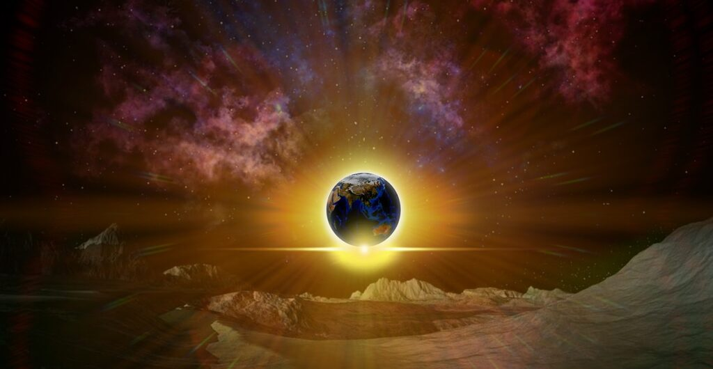 Earth Eclipse Moon Lunar Eclipse  - ParallelVision / Pixabay