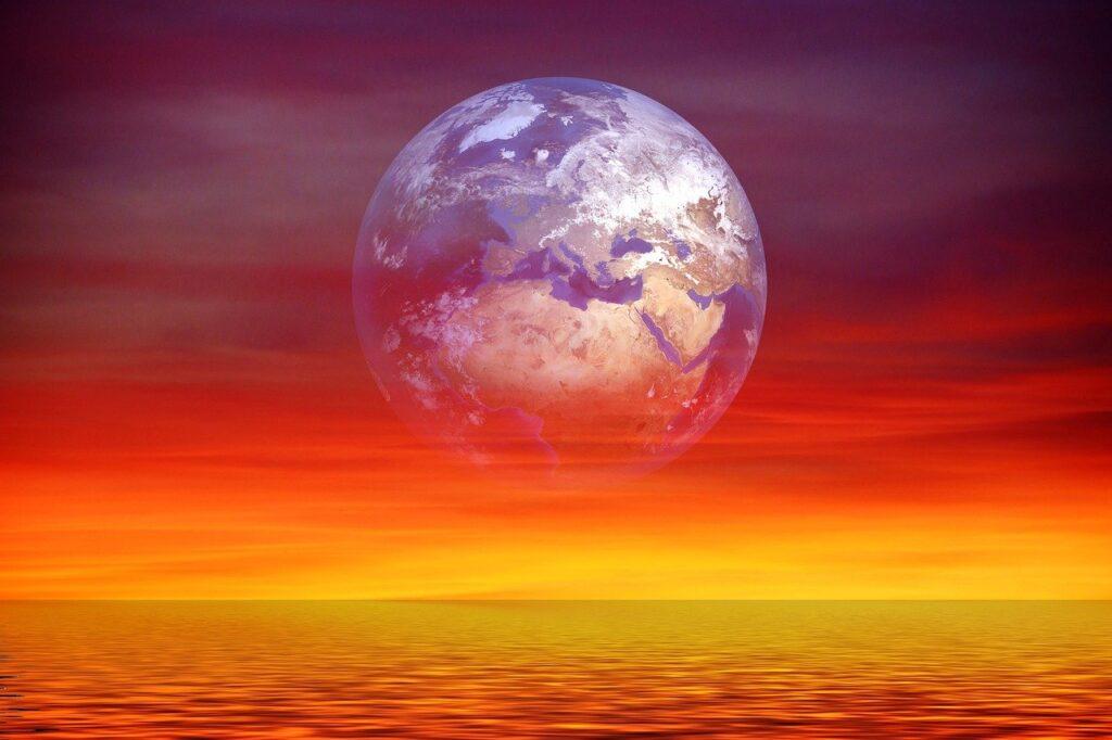 Earth Globe Sunset Sunrise  - geralt / Pixabay