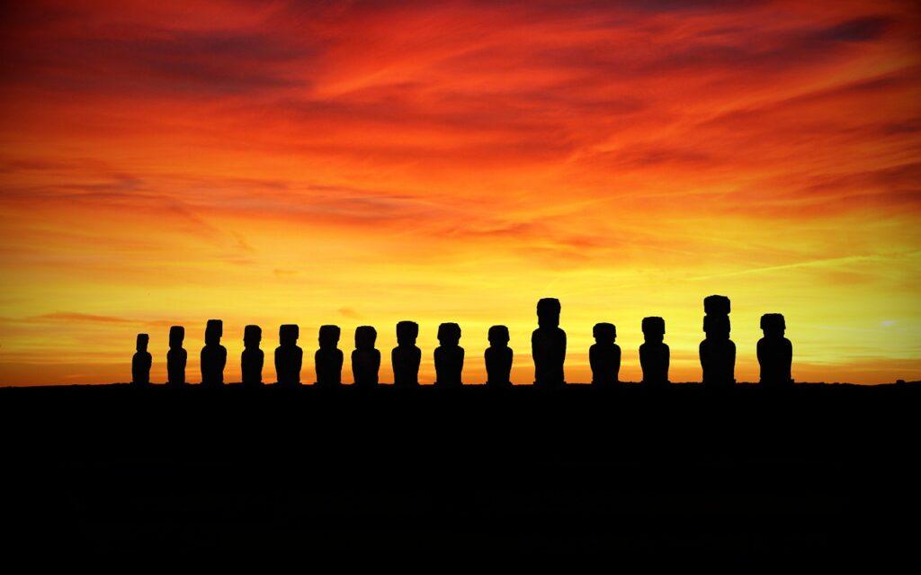 Easter Island Rapa Nui Moai  - flutie8211 / Pixabay