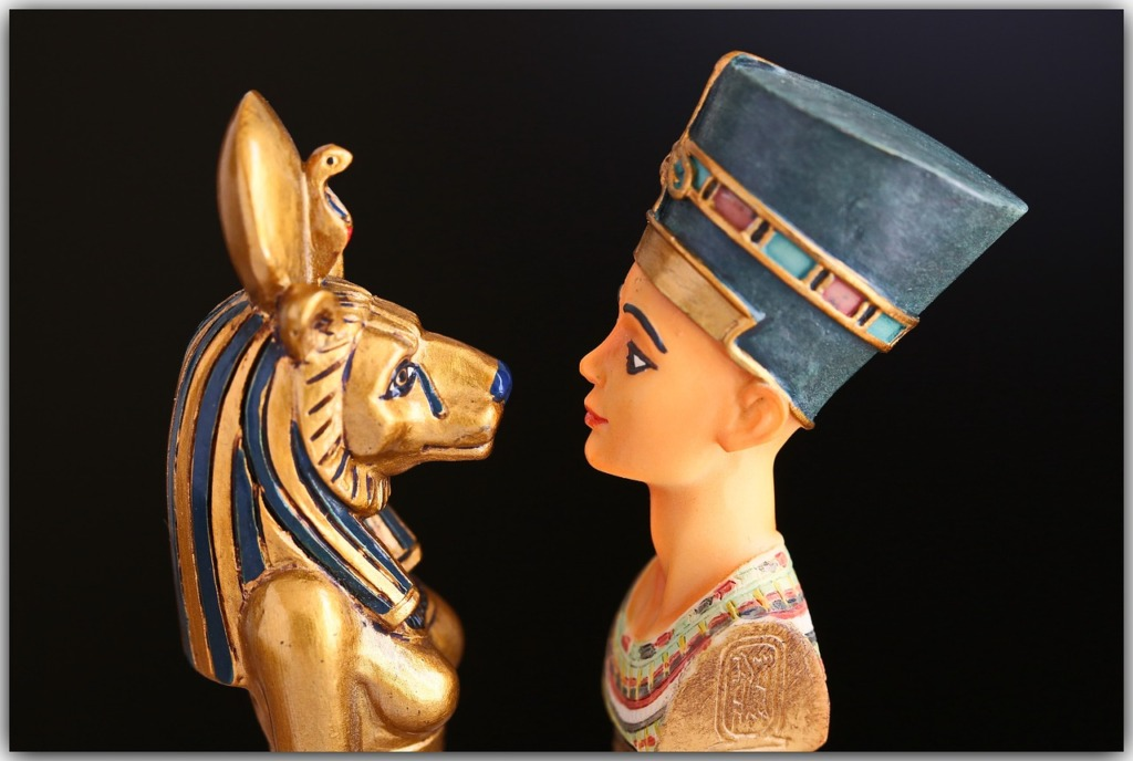 Egyptian Nefertiti Egypt Cleopatra  - heikografie / Pixabay