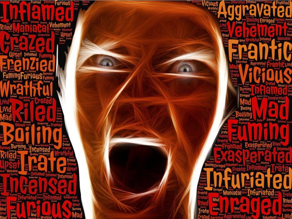 Enraged Irate Furious Frantic  - johnhain / Pixabay