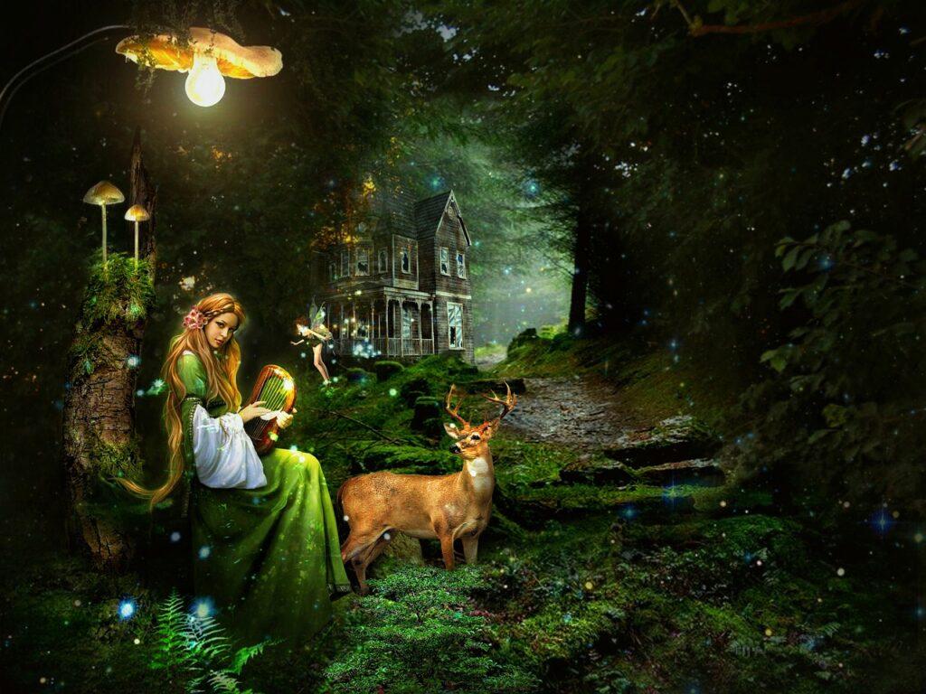 Fantasi Karakter Wanita Muda Peri  - firaangella1 / Pixabay