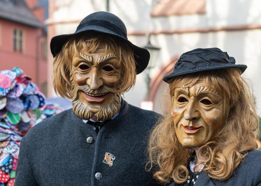 Fasnet Carnival Panel Mask Male  - Couleur / Pixabay