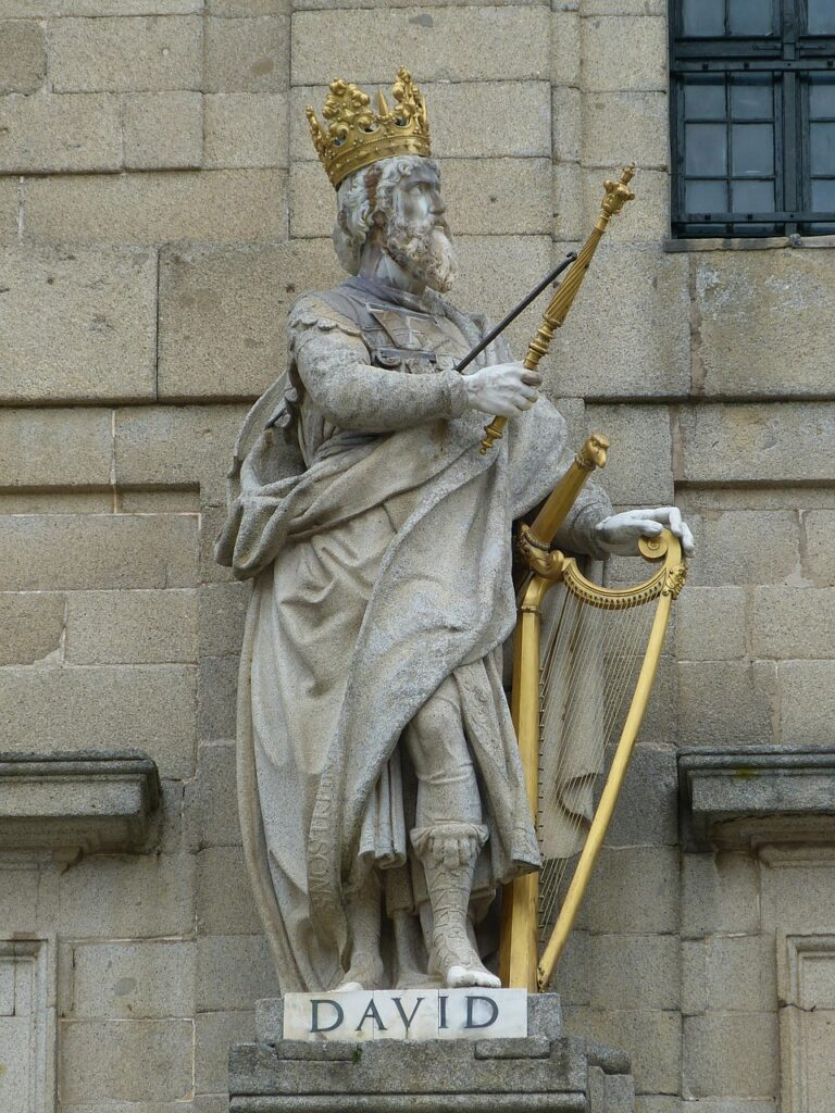 Figure King David King David Harp  - falco / Pixabay