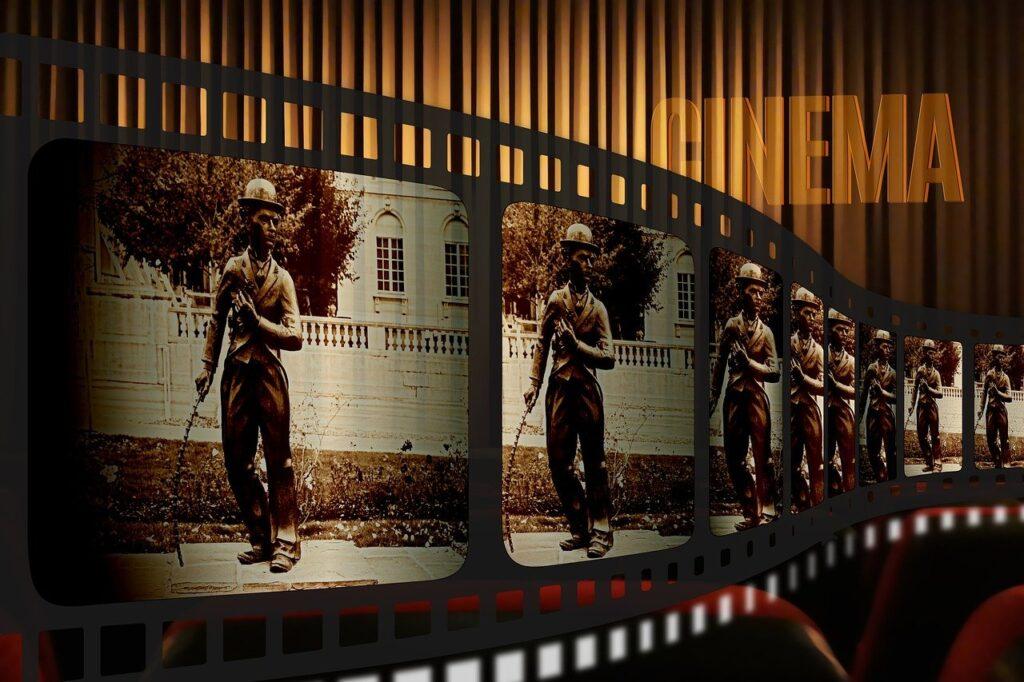 Filmstrip Cinema Charlie Chaplin  - geralt / Pixabay