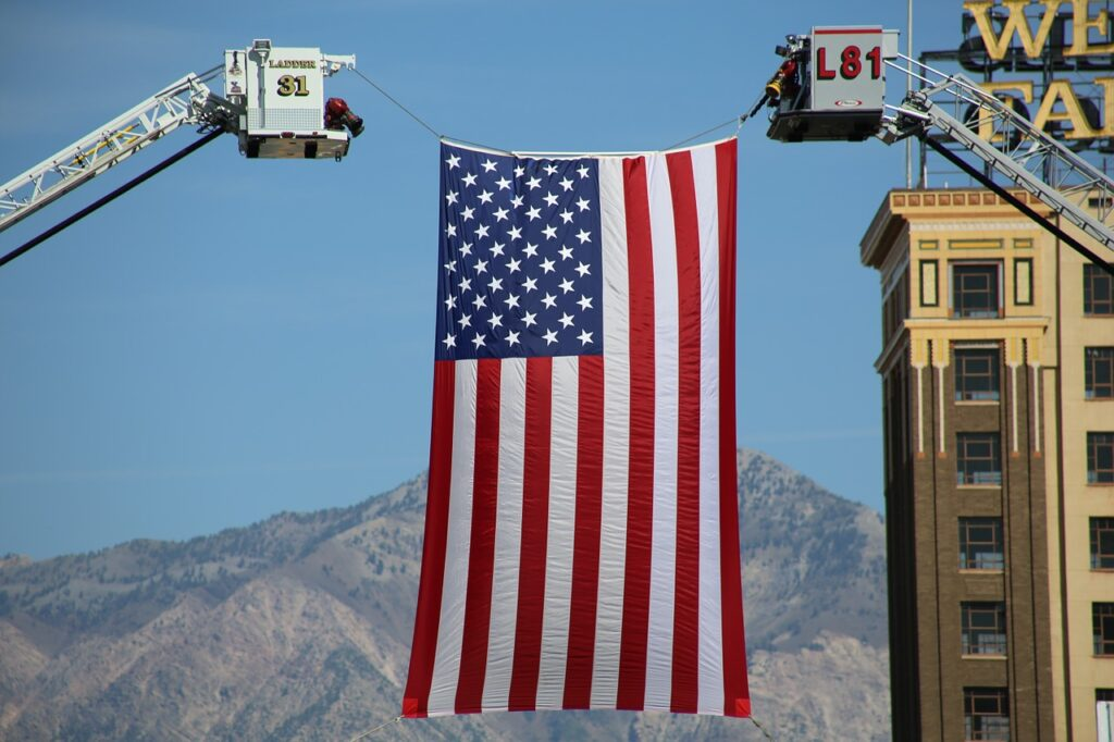 Flag American United States America  - jp26jp / Pixabay