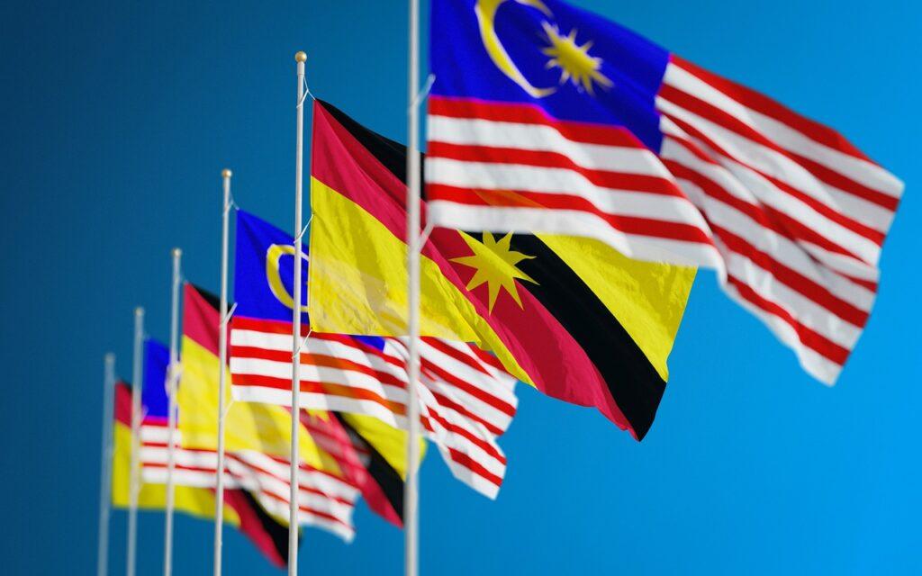 Flags Nations Countries Borneo  - leo_altman / Pixabay